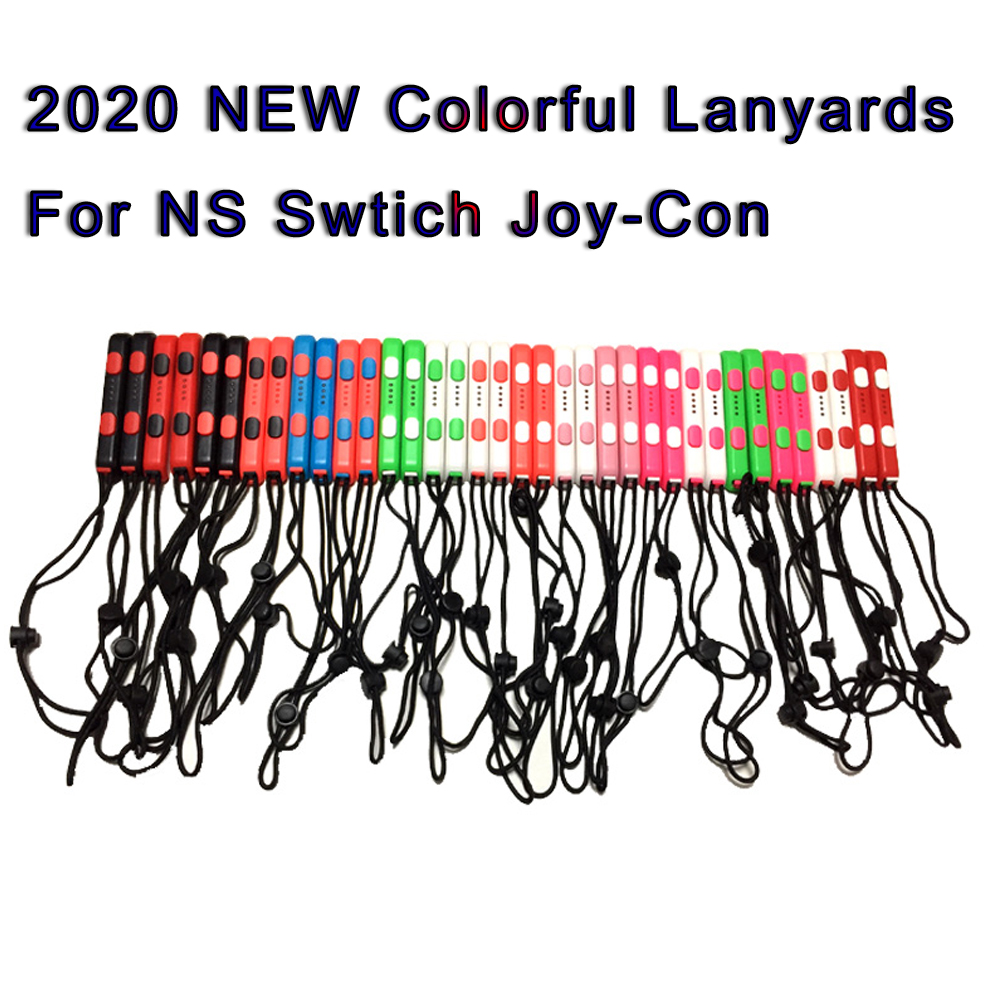1PAIR 2020 NEW COLORFUL Wrist Strap For Nintend Switch NS Portable Joy Con Lanyard Gamepad Controll  For NS Switch