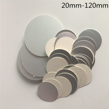 500 pcs Free Shipping Plastic bottle glass bottle use induction sealing foils by heat Gasket Cosmetic Bottle Accessories