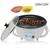 220 v/110 v café torrador de amendoim máquina de assar a nova listagem de artefato grãos de café máquina de cozimento doméstico Torrefadoras de café     -