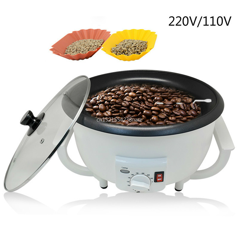 220V/110V Coffee Roaster Peanut Roasting Machine The New Listing Of Artifact Coffee Beans Baking Machine Household