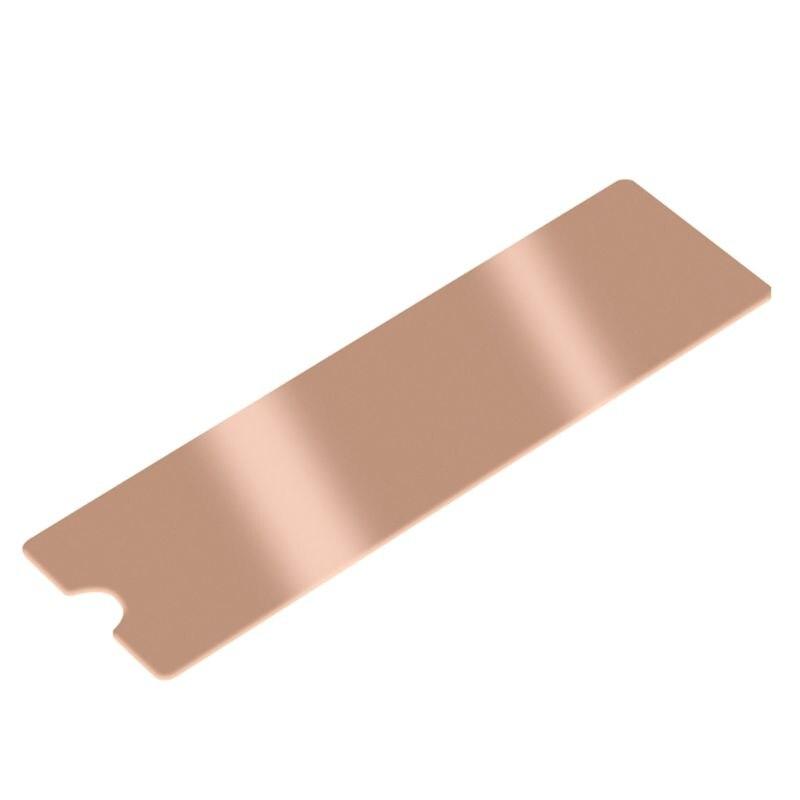 Cooling Copper Sheet M.2 Heatsink NVME NGFF Thermal Conductivity Fan Cooler