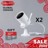 Mijia Imilab EC3 outdoor ip camera 025 N2 global version 2K HD CCTV Wi Fi hotspot router rotatable lens PTZ smart intelligen