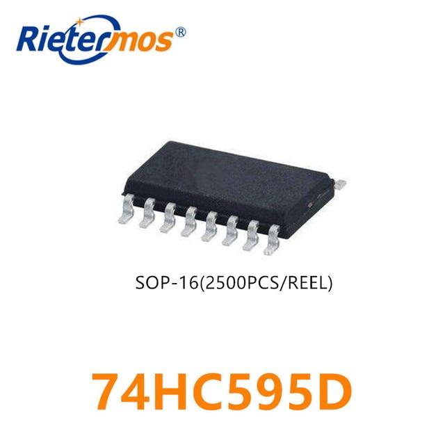 2500 adet 74HC595D 74HC595 SOP16 çinde yapılan