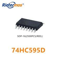 2500pcs 74HC595D 74HC595 SOP16 MADE IN CHINA