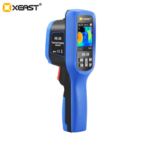 Variation #1 of thermal imaging camera image handheld 2.4 inch color screen come with 8g sd card ambient humidity xe-26/xe-27/xe-28