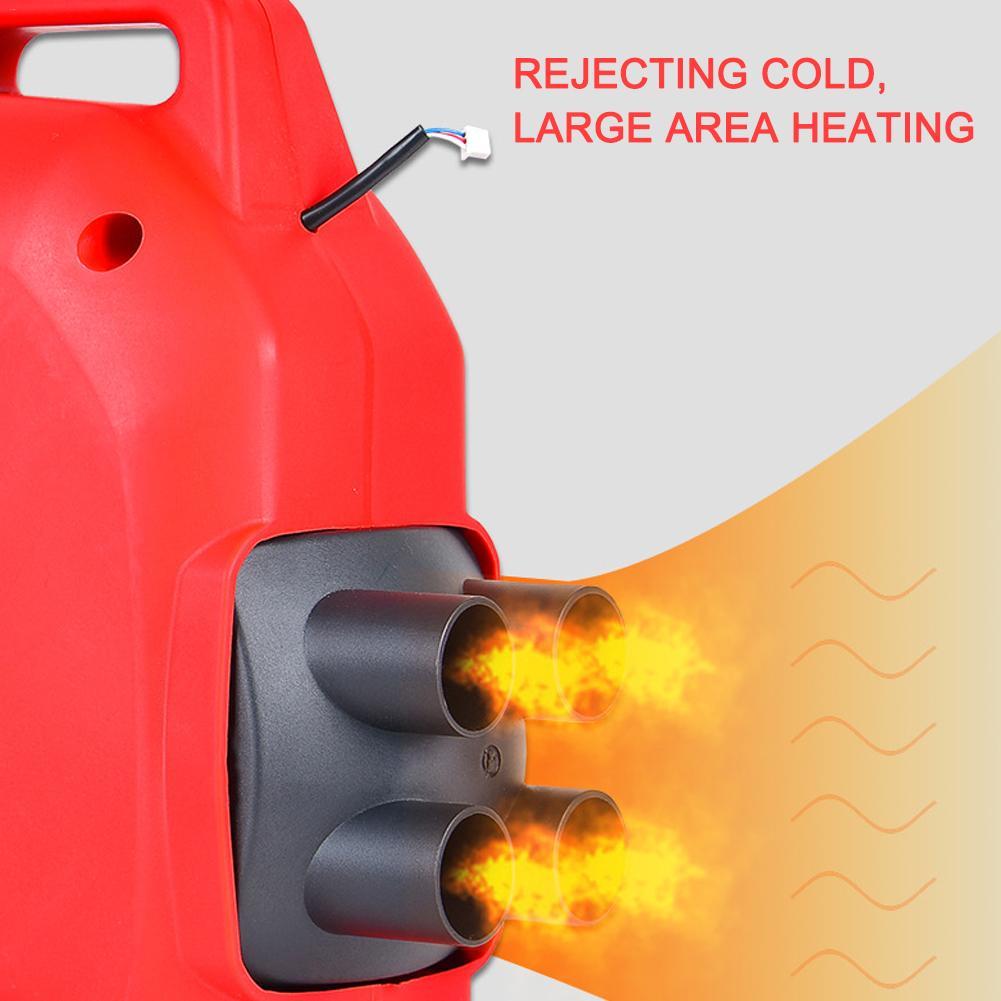 Calefator de carro 12 v/24 v 5kw a favor do meio ambiente diesels de ar universal para carros de bateria de armazenamento de veículos de carga - 4
