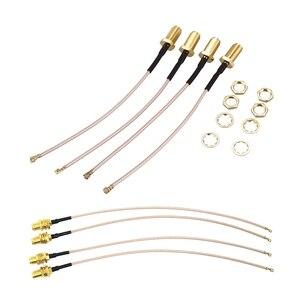 8x RF U.FL(IPEX/IPX) Мини PCI для RP-SMA женский Пигтейл/провод для антенны Wi-Fi коаксиальный RG-178 кабель с низкой потерей и PCI для SMA
