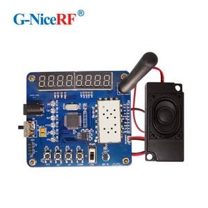 Image 4 - Free Shipping   LCD Display Testing Demo Board/Development Board For SA818 VHF Walkie Talkie Module