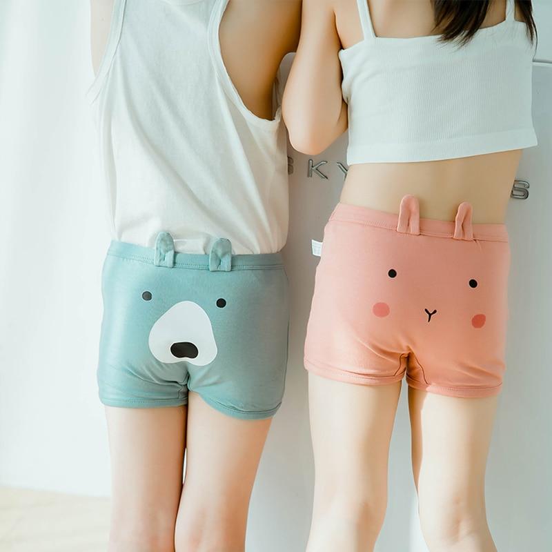 New Underwear Children Briefs Girls Kids Shorts Cute Knickers Boxer Underpants