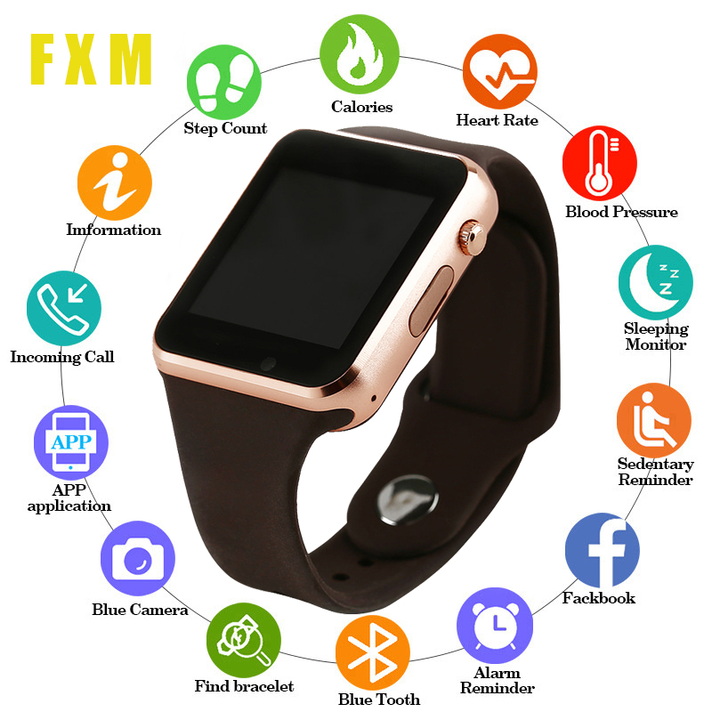Digital Watches Smart Watch Men/for Children Smartwatch Women/android Bluetooth Watch Support Call Music Photography SIM TF Card