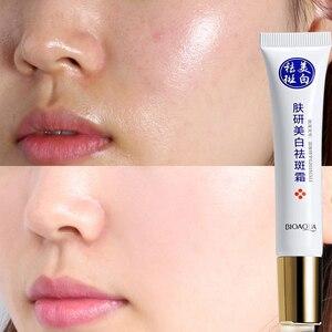 Image 2 - השפעות חזקות הלבנת פנים קרם טהור קולגן להסיר Melasma פיגמנט מלנין תיקון אנטי הזדקנות מהות לחות עור