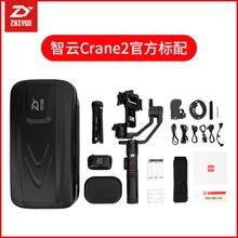 Zhiyun – Crane 2 stabilisateur de caméra à cardan 3 axes portatif, pour Canan, Nikon, Sony Focus, affichage de la charge utile, Balance, appareil photo DSLR sans miroir