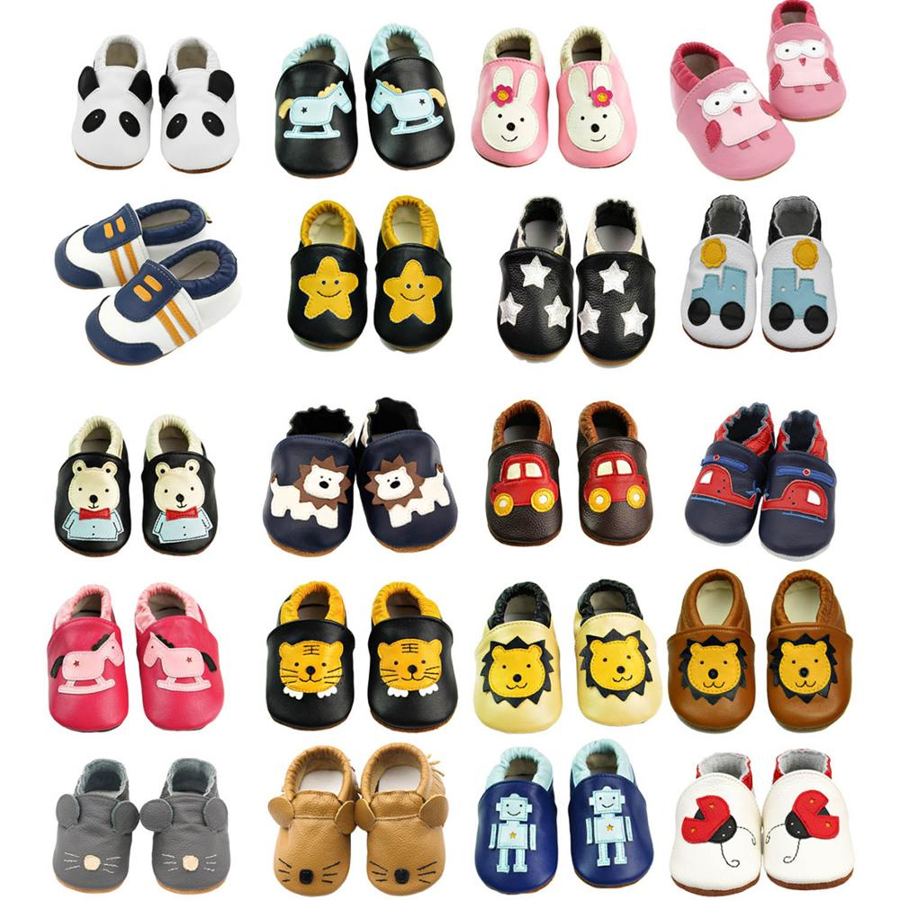 SITAILE High Quality Anti-slip First Walker Baby Shoes Soft Leather Toddler Shoes Natural Materials Comfortable Kids Shoes