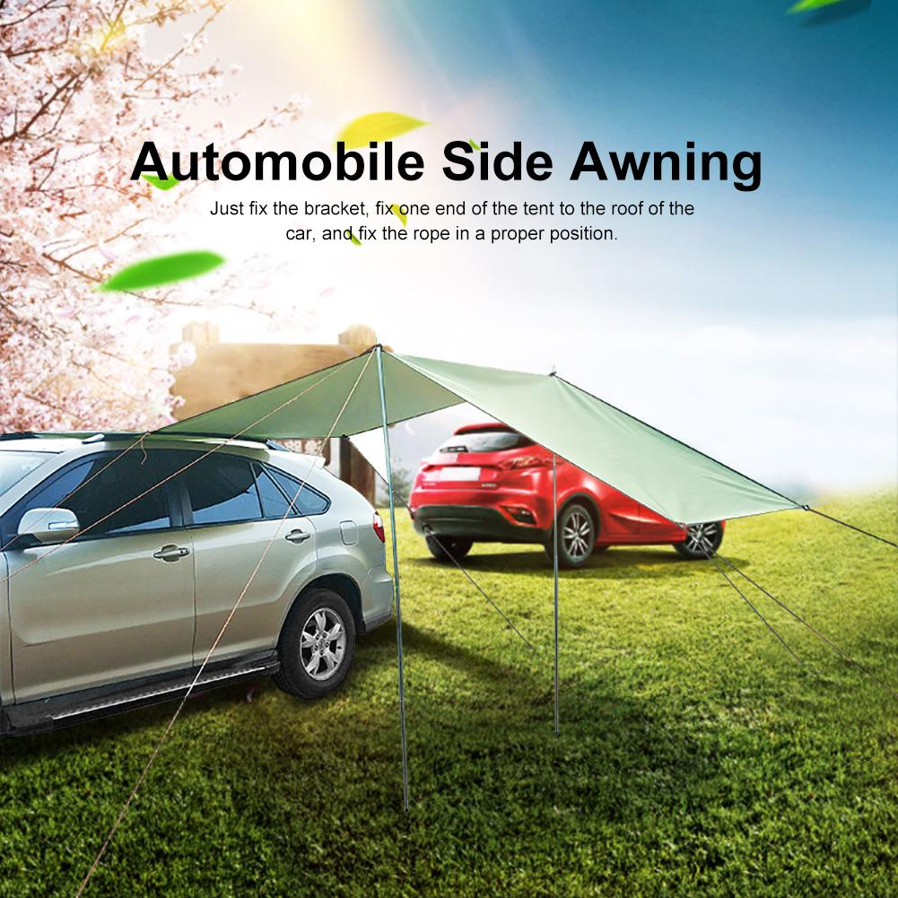Car Awning Sunshade Waterproof Sunscreen And Windproof 5-6 Person Portable Camping Tent For Various Outdoor Activities