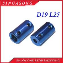 Алюминиевый сплав Муфта с отверстием 5 мм 8 мм 3D принтеры части синий гибкий вал Муфта Винт часть для шагового двигателя аксессуары
