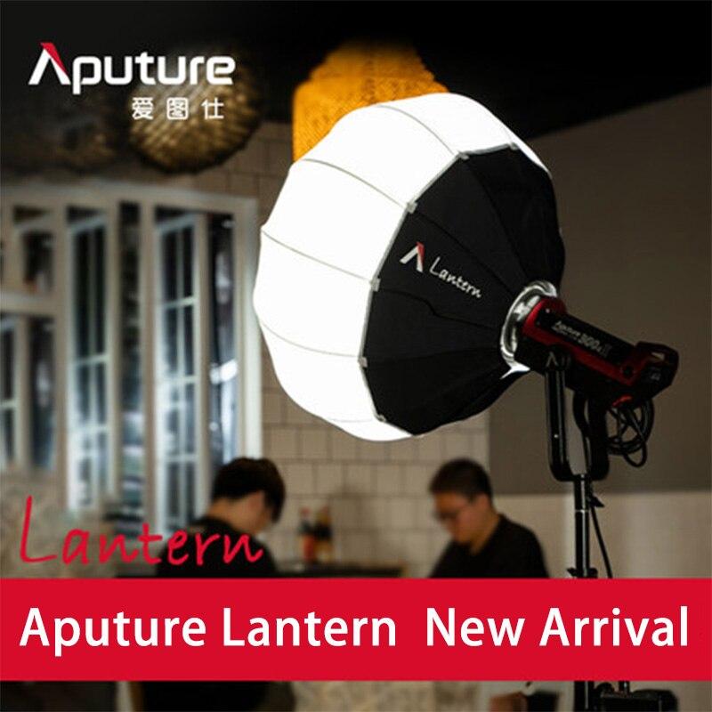 Aputure Lantern Softbox Soft Light Modifier standard Bowens mount shaping lighting modifiers soft light photo studio aputure