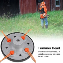 Garden Trimmer Head Outdoor 2pcs Universal Strimmer line Brush Cutter Replacement Convenient