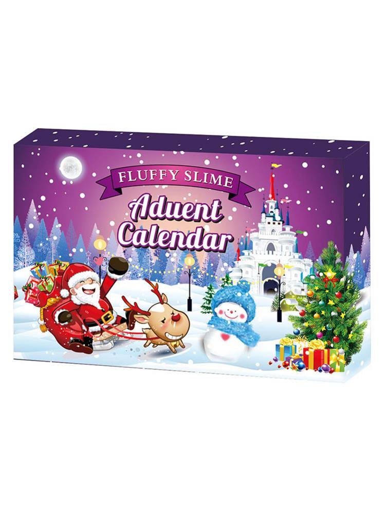 DIY Gift Advent Calendar Safe Delightful Shaped Cream Set To Train 7-14 Years Old Kids Intellectual Development Hands-on Brain