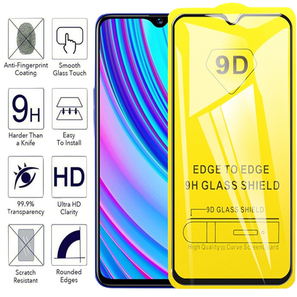 For Oppo Realme 3 Pro Glass RMX1851 9D Tempered Glass Screen Protector For Realmi 3 RMX1821 Realmi3 3pro Real Mi 3 Full Coverage