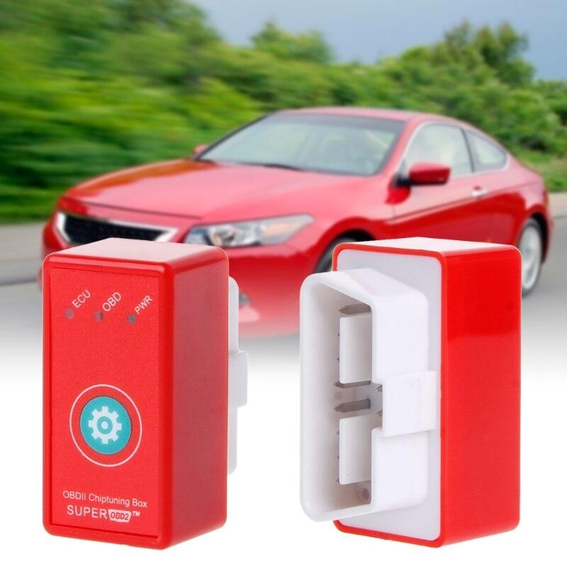 Vehicle OBD2 ECU Chip Tuning Box Plug Drive Super Upgrade Reset Function  Dropshipping