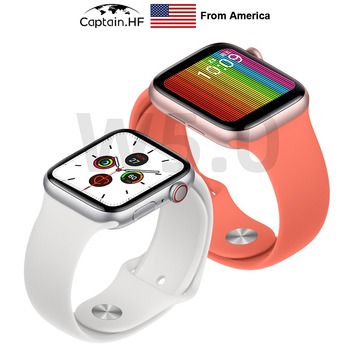US Captain Smart Watch W5.0, Bluetooth Bracelet, Heart Rate, Blood Pressure monitoring, All-Day Battery, IP68 Waterproof
