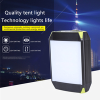 350 lm LED tent light outdoor lighting USB Port camping light work light Rechargeable Mobile Power Bank Flashlight