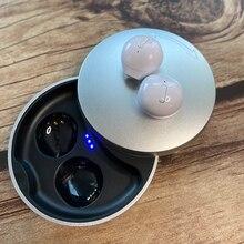 TWS Bluetooth 5.0 sans fil écouteurs réduction du bruit Binaural HD appel écouteurs Mini casque Invisible avec 500mAh étui de charge