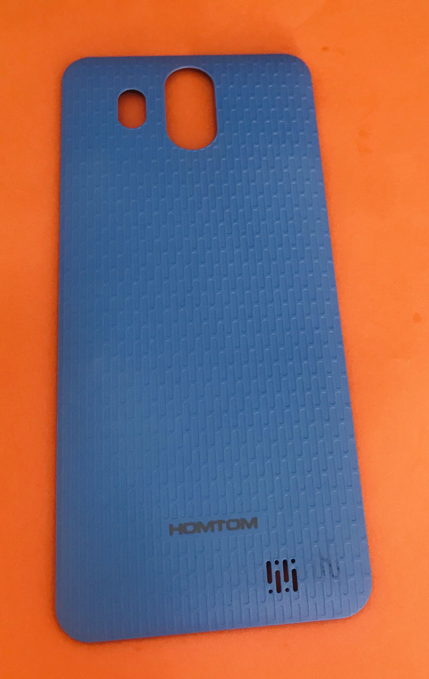 Used Original Protective Battery Case Cover for <font><b>HOMTOM</b></font> <font><b>S16</b></font> MTK6580 Quad-Core Free shipping image