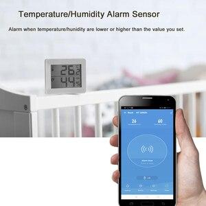 Image 2 - NEO Coolcam capteur de température humidité, alarme Wifi, sirène Tuya, compatible avec Google Home Assistant