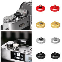 11 milímetros Deluxe Côncavo Anel De Borracha Botão Do Obturador para Fujifilm X-T4 XT4 X-E3 XE3 X100V X100F X100T X100S X100 X30 X20 X10