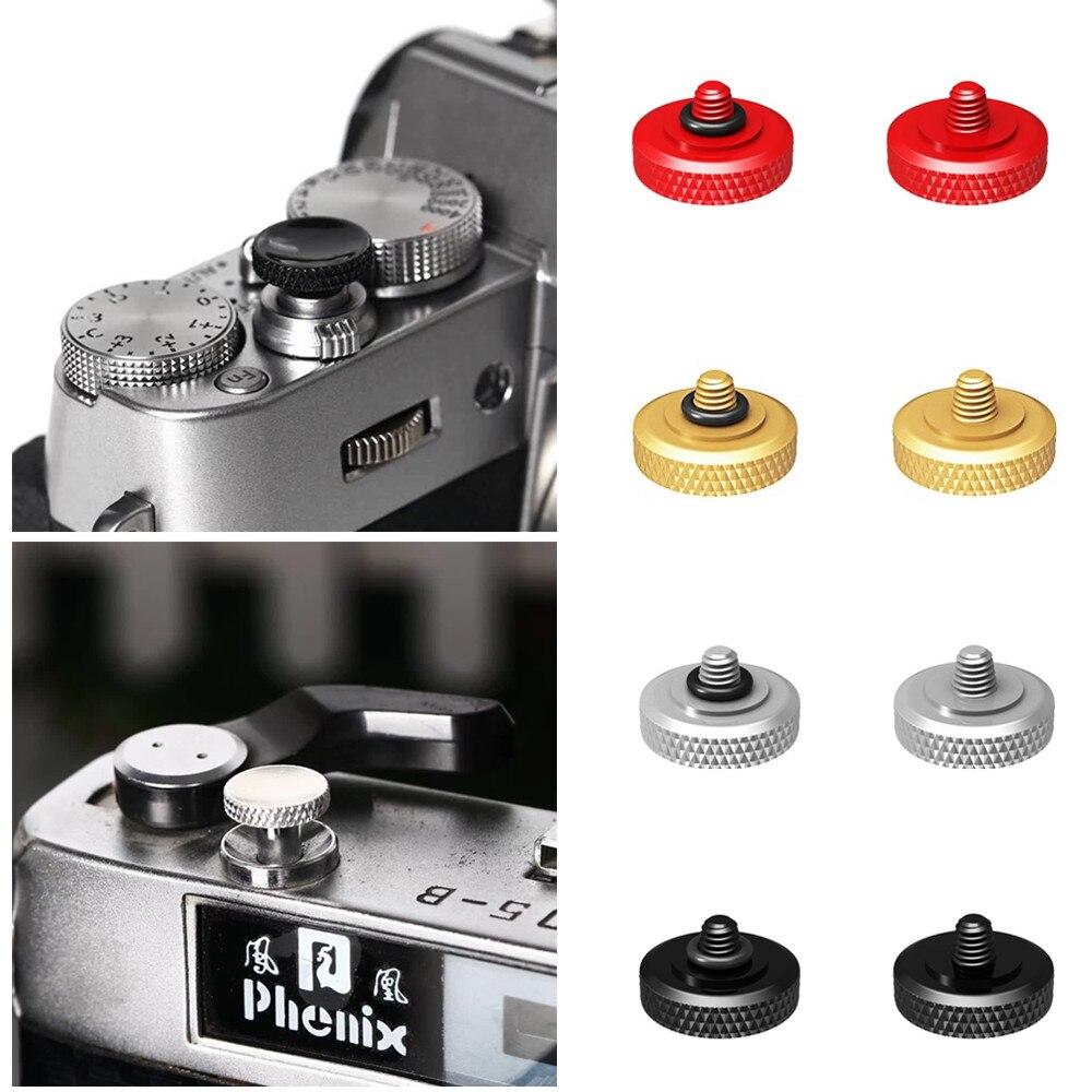 11 мм Deluxe вогнутая кнопка спуска затвора резиновое кольцо для ЖК-дисплея с подсветкой Fujifilm X-T4 XT4 X-E4 X-E3 X100V X100F X100T X100S X100 X30 X20 X10