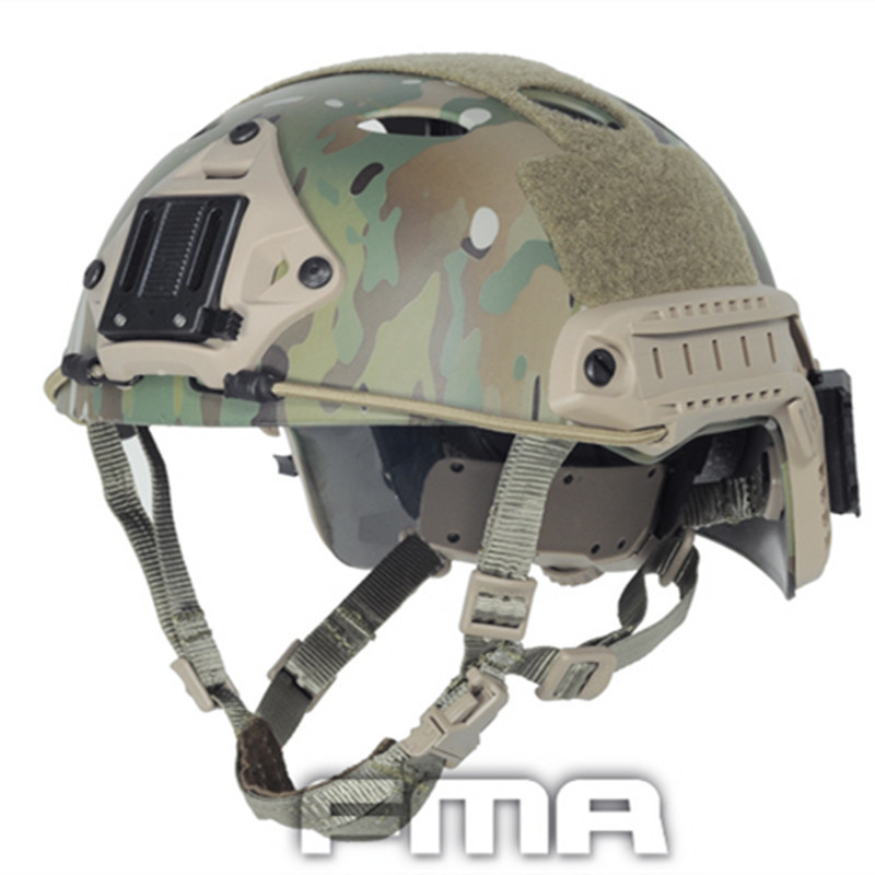 Tbfma new hot men Tactical Rapid -type Helmet Pj Airsoft Multicam Molle Gear For The Attacked Freelance Camp Fighter (l /xl)