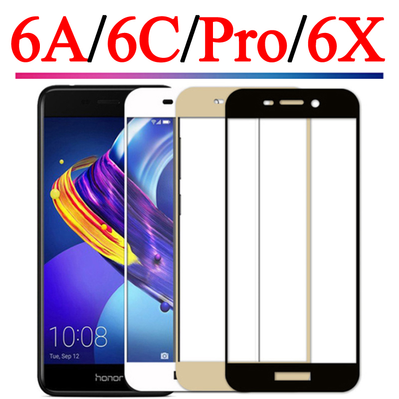 Tempered Glass For Huawei Honor 6X Glass On Honor 6A 6C Pro Screen Protector On Hauwei Honor6C 6CPro 6 A C Film Protective Glass