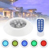 6 LED RGB Unterwasser Lampe 12V RGB + Fernbedienung Außen Beleuchtung für Schwimmbad/Unterwasser Dekoration