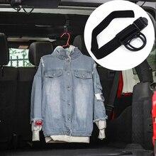 Hook Wrangler Unlimited Jeep for JK JL Roll-Bar Durable Decoration Black