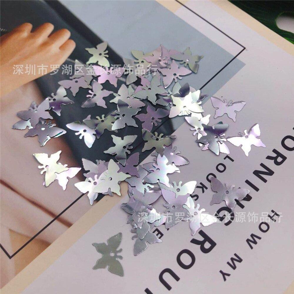 1000Pcs 17x12mm Butterfly Sequin Paillette Sewing Papillon Sequins Garment Clothing Accessories Crafts&Paillette Home Decoration