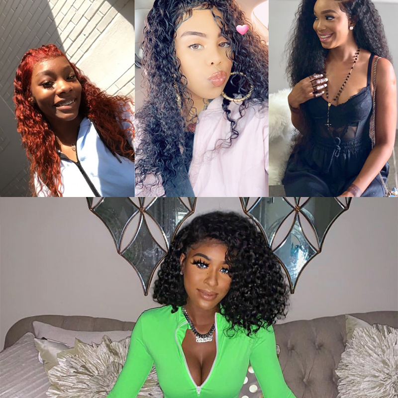 Hbf729b8fedce4c2a8503901df0007396h Funky Girl Brazilian Water Wave Human Hair 2/3/4 Bundles With Lace Frontal Closure With Bundles Ear To Ear Lace Frontal Non-Remy