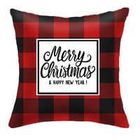 Fundas de cojín navideñas funda Feliz Navidad decoración para el hogar regalos Noel Navidad 2019 Navidad decoración Feliz Año Nuevo 2020