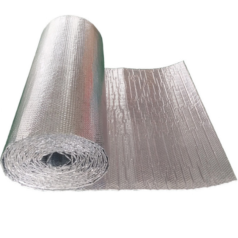 Double-sided Aluminum Film Polyethylene Aluminum Foil Insulation Energy Saving Waterproof Moisture Insulation Noise 1M X 3M