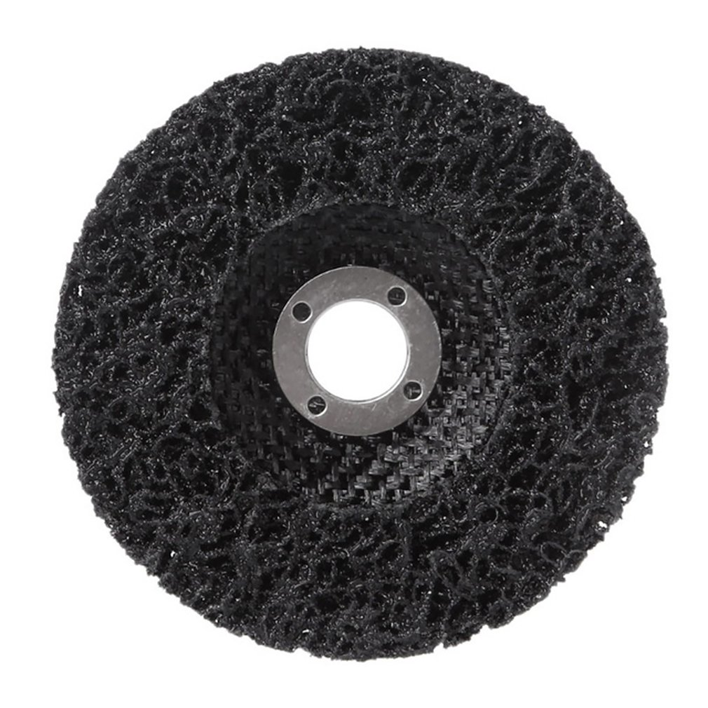 Durable Poly Strip Disc Wheel 125*22mm Wood Metal Paint Rust Removal Clean Abrasive Tools For Angle Grinder Mayitr