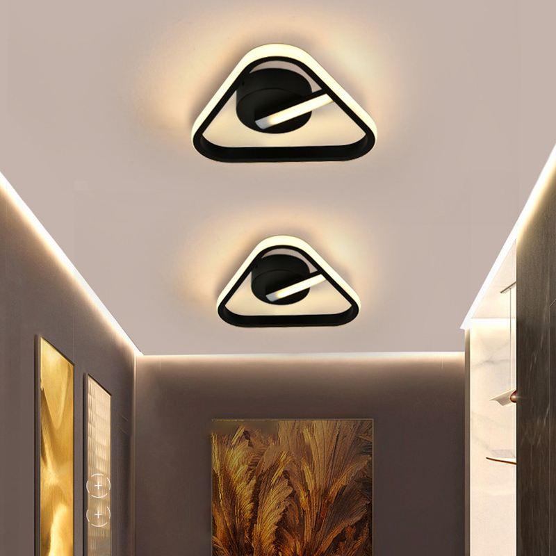 Luz de teto moderna lâmpada led para