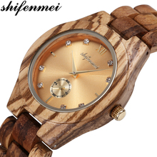 Shifenmei Woman Watch 2020 Wooden Watch Top Luxury Brand Quartz Ladies Watches Full Bamboo Wood Clock for Women zegarek damski bobo bird top design brand luxury wooden bamboo watches for ladies with real leather quartz watch women japanese miyota movement