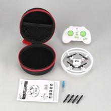 Mini RC zabawki drony Nano drony kieszonkowy dron Case zdalnie sterowany quadcopter helikopter 2 4GHz prezent dla zabawka dla dzieci Dwi Dowellin D1 tanie tanio OCDAY Z tworzywa sztucznego Metal RUBBER 50 Minutes Ready-to-go 5-7 Minutes 2* 1 5V AAA Battery(Not Included) Pilot zdalnego sterowania