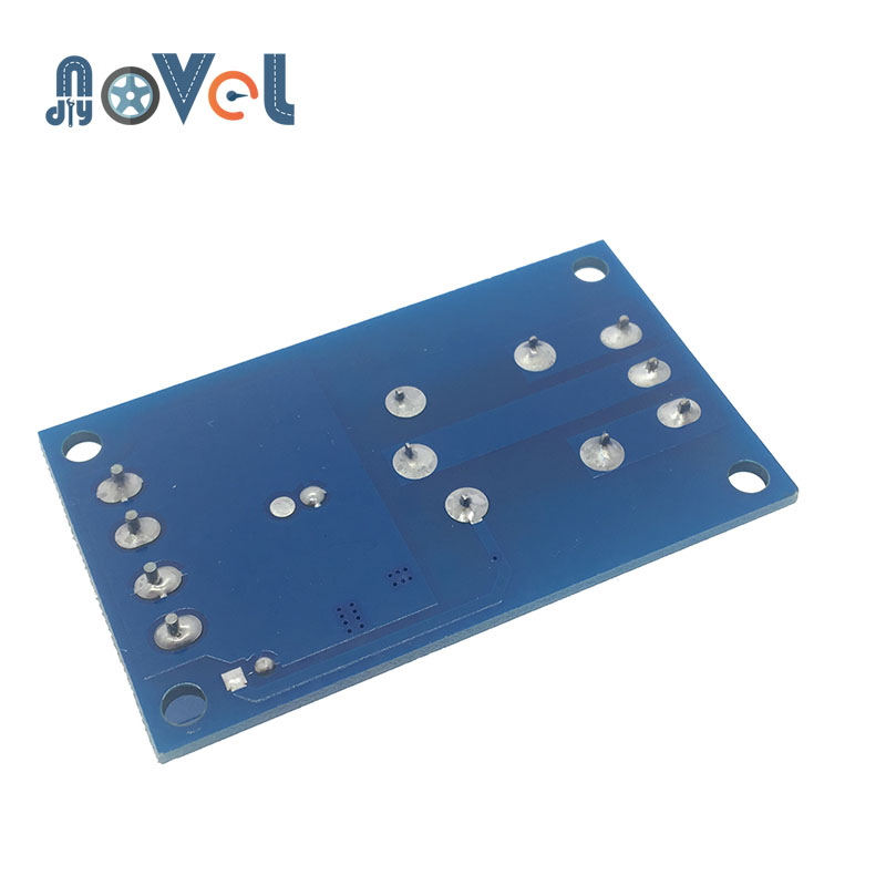 Релейный модуль 12 В однокнопочный бистабильный модуль одна клавиша модификация автомобиля старт-стоп самоблокирующийся переключатель модификации автомобиля