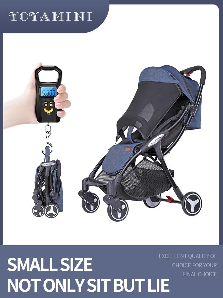 Ultra cochecito ligero de bebé cochecito puede sentarse y la mentira puede ser doblado en el avión portátil de bolsillo mini paraguas Bolso para cochecito de bebé, bolsos de moda para madres, bolso grande para pañales, mochila, organizador para bebés, bolsas de maternidad, bolso para madres, mochila para pañales