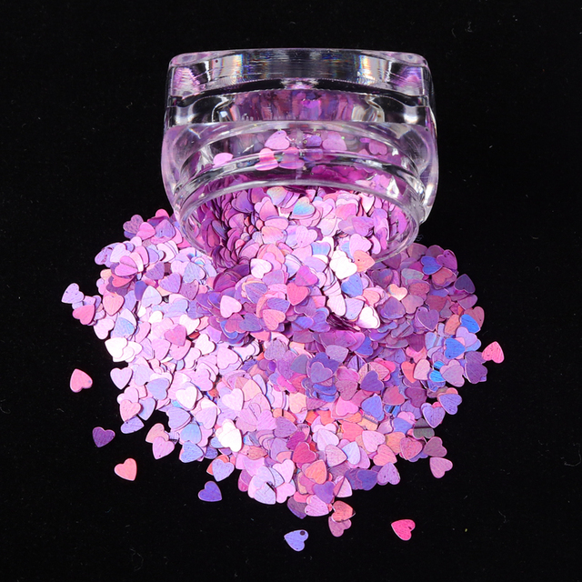 1 Box Holographic Butterfly Shape Nail Glitter Flakes Sparkly 3D  Colorful Sequins Spangles Polish Manicure Nails Art Decoration 5