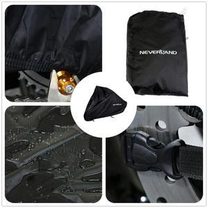 Image 2 - 190T Taffeta Black Motors Bike Motorcycle Covers Dust Water Rain Proof Outdoor Indoor Rain UV Protector Cover Coat Scooter D20