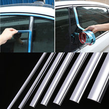 Auto chrome Decorative Strips chrome trim for cars Car chrome window trim car exterior trim Chrome Moulding Trim