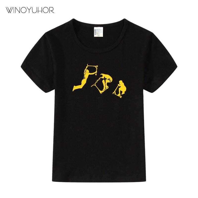 2-6 Years Old Breakdance B Boy Baby Boys Girls Cute T-Shirt Summer Tee