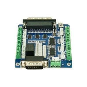 Image 4 - 5 محور Mach3 لوحة تحكم باستخدام الحاسب الآلي لآلة محرك متدرج مع واجهة USB